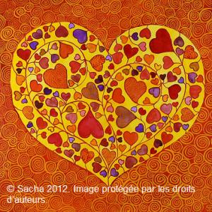 Coeur orangeP
